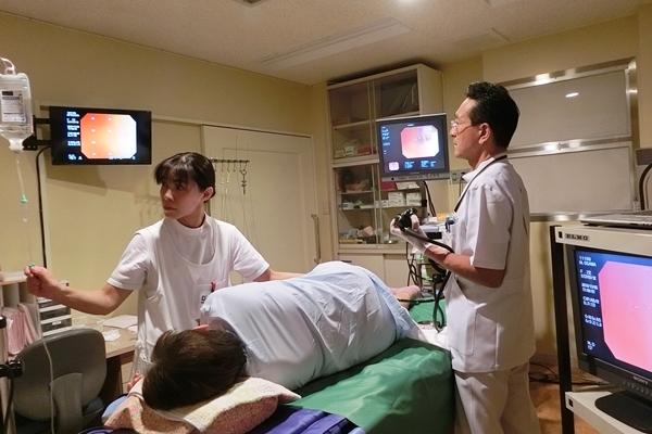 大腸検査出口外科医院